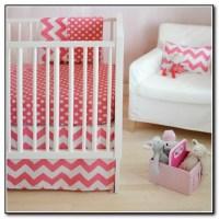 Pink And Gray Crib Bedding Sets