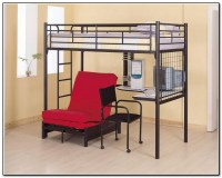 Double Bunk Beds With Desk Underneath Download Page  Home ...