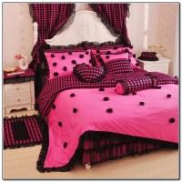 Light Pink And Black Bedding - Beds : Home Design Ideas ...