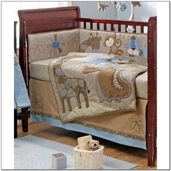 Blue Crib Bedding Set for Boys