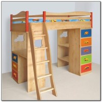 Loft Bunk Bed With Desk Underneath Download Page  Home ...