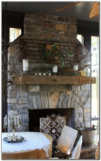 Screened In Porch With Fireplace - Porches : Home Design ...