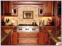 Kitchen Backsplash Ideas With Cherry Cabinets - Kitchen ...