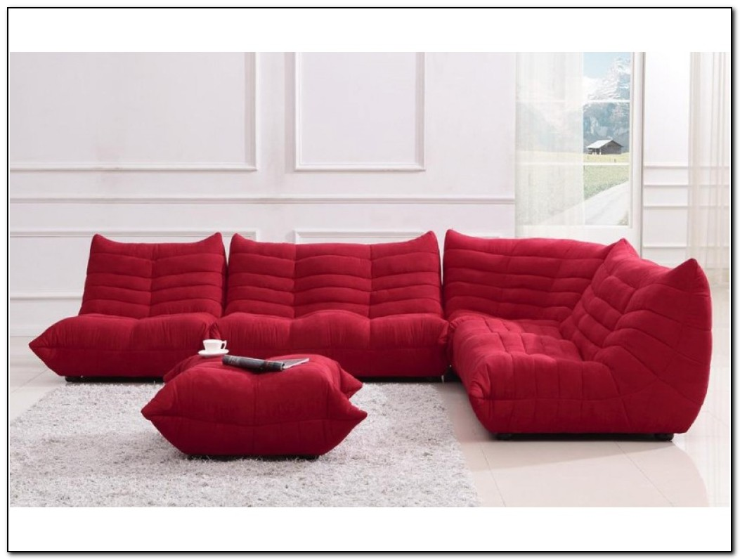 red microfiber reclining sofa sofas for under 100 sectional home design ideas