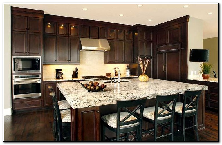 Kitchen Islands With Seating On Both Sides  Kitchen