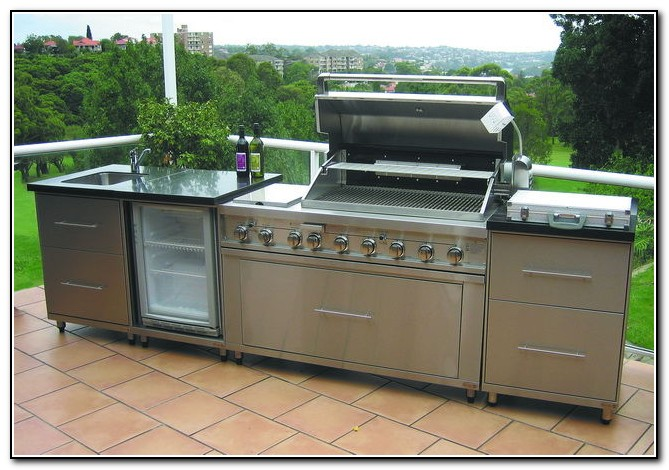 Outdoor Kitchen Kits Costco  Kitchen  Home Design Ideas