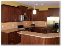 Cherry Kitchen Cabinets Backsplash Ideas - Kitchen : Home ...