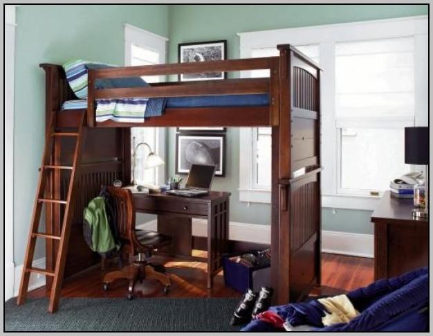 Bunk Bed With Desk On Bottom  Desk  Home Design Ideas