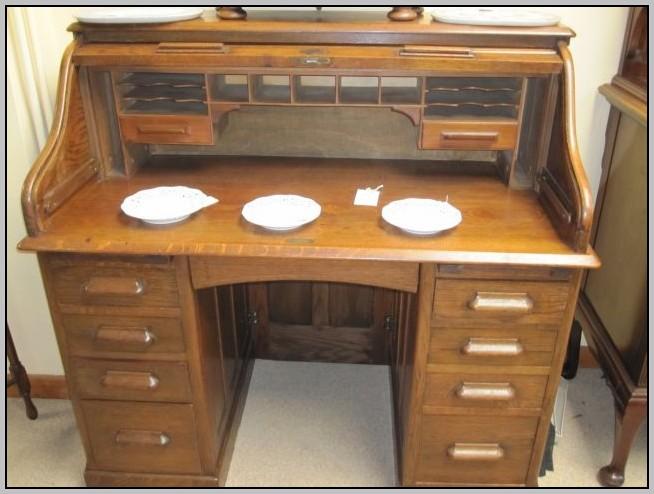 Roll Top Desk Oak  Desk  Home Design Ideas GoD6X1yP4L17722