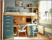 Loft Bed With Desk Plans - Beds : Home Design Ideas # ...