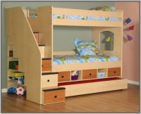Bunk Bed With Stairs And Drawers And Desk - Desk : Home ...