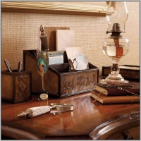 Executive Desk Set Leather - Desk : Home Design Ideas # ...