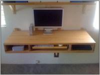 Folding Wall Desk Woodworking Plans - Desk : Home Design ...