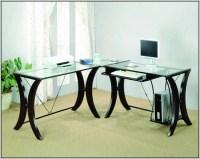 Glass Office Desk Ikea - Desk : Home Design Ideas ...
