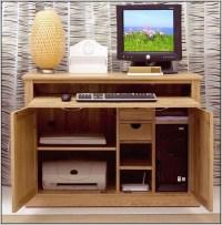 Hidden Computer Desk Furniture - Desk : Home Design Ideas ...