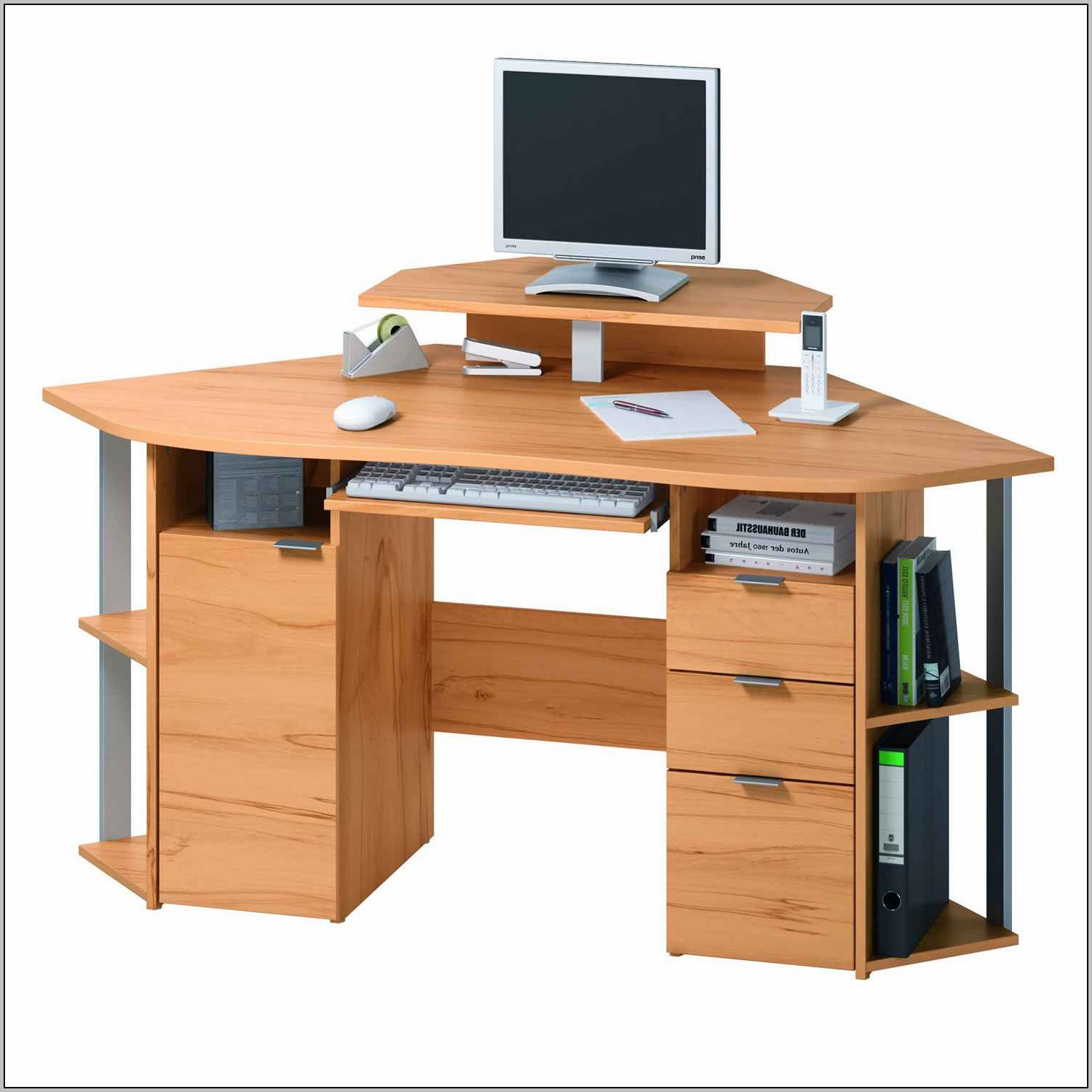 Modern Computer Desks For Small Spaces  Desk  Home
