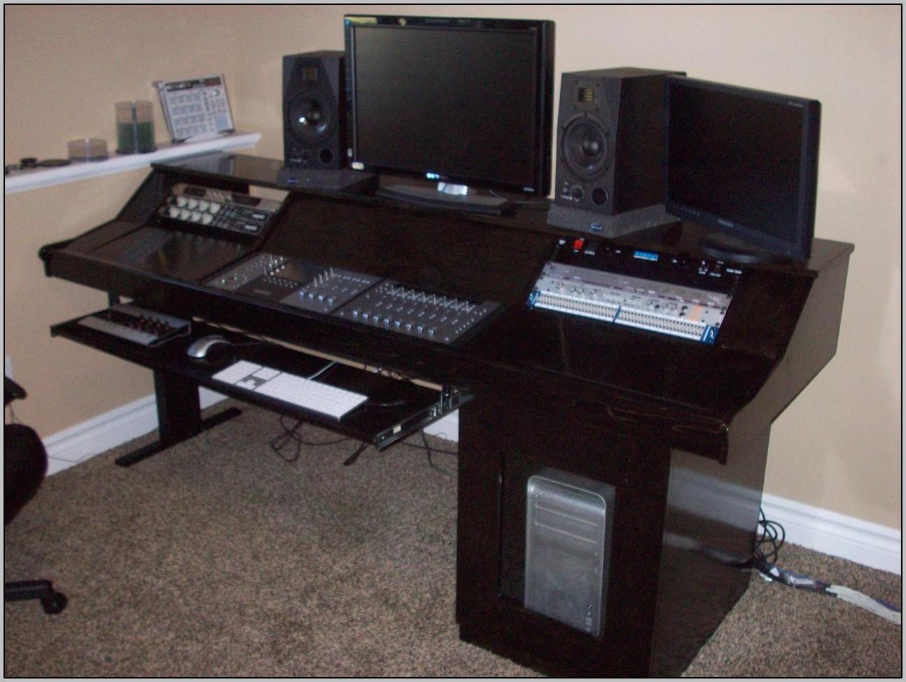 Recording Studio Desk Plans  Desk  Home Design Ideas