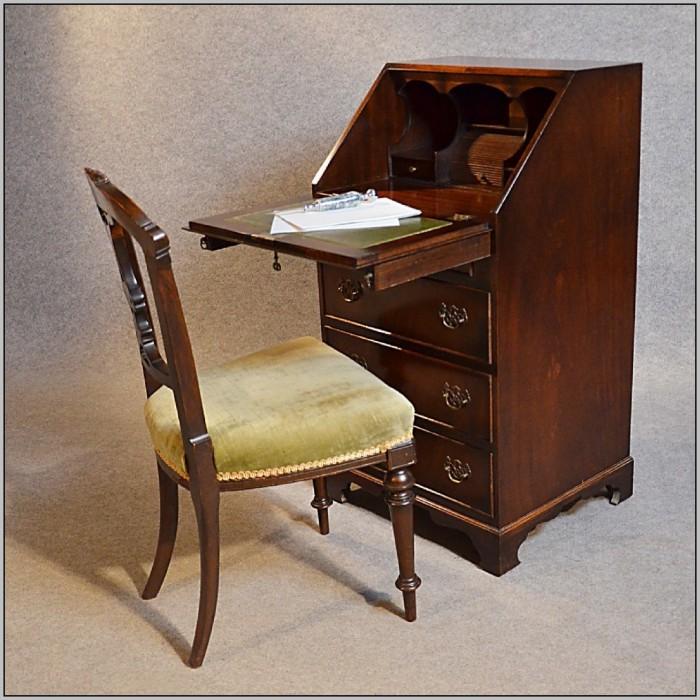 Small Writing Desks Antique  Desk  Home Design Ideas