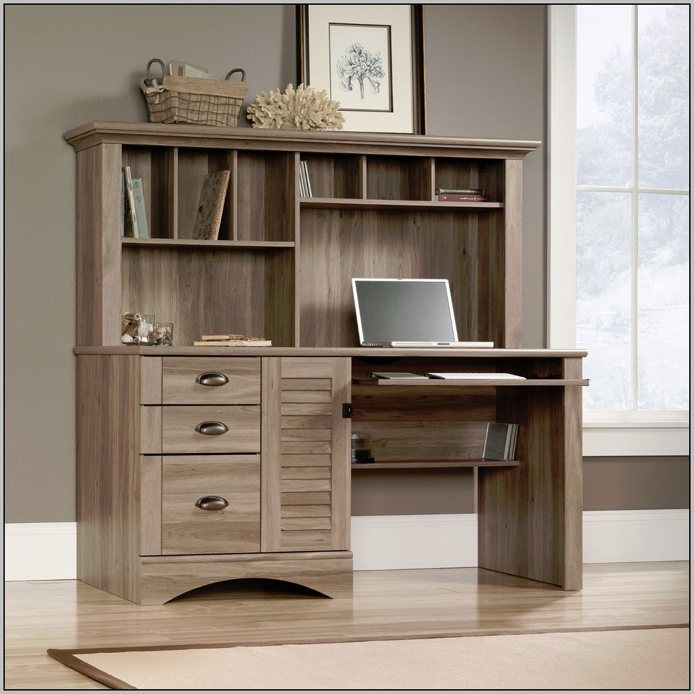 Computer Desk With Drawers And Shelves  Desk  Home