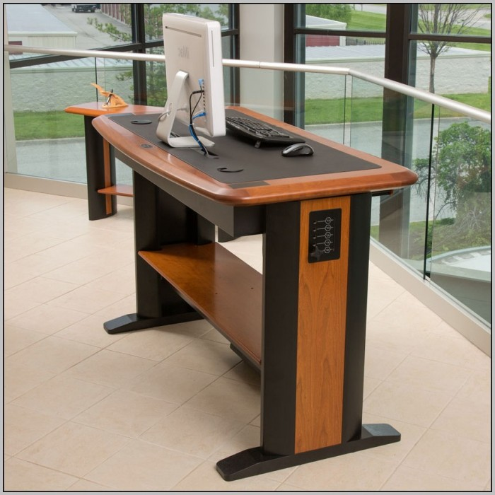 Diy Desktop Adjustable Standing Desk