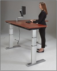 Adjustable Standing Desk Ikea - Desk : Home Design Ideas ...