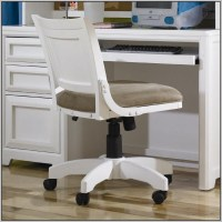 White Wooden Rolling Desk Chair Download Page  Home ...