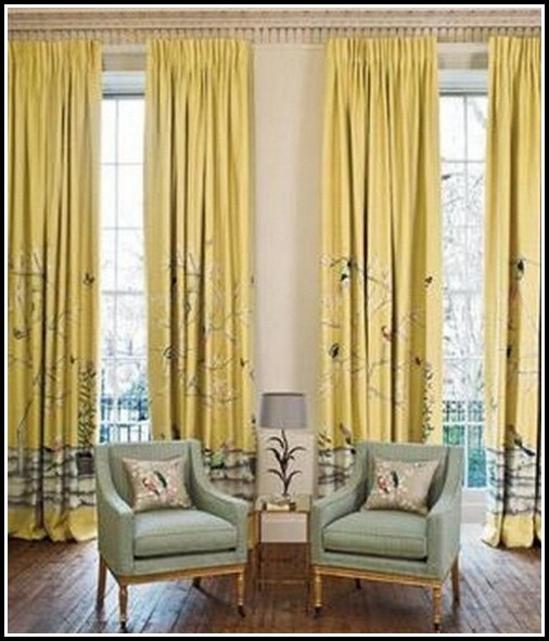 Navy Blue And Yellow Curtains  Curtains  Home Design