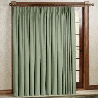 Thermal Blackout Patio Door Curtains - Curtains : Home ...