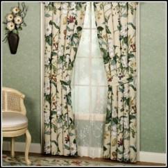 Valances For Kitchen Cabinet Knob Waverly Garden Room Vintage Rose Curtains - ...
