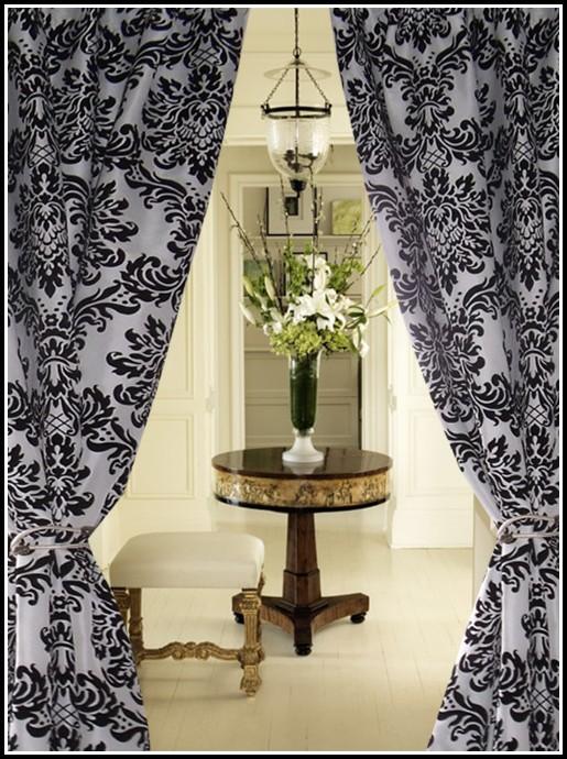 Black And White Polka Dot Blackout Curtains Curtains Home Design Ideas 5onEwR6Q1d31370
