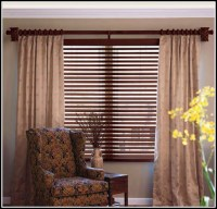 Adjustable Decorative Double Curtain Rod - Curtains : Home ...