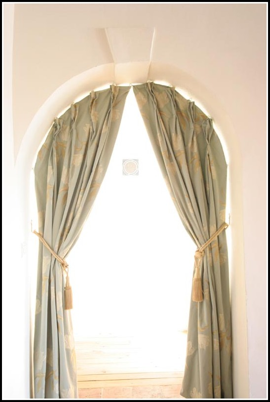 Window Treatments For Half Arched Windows