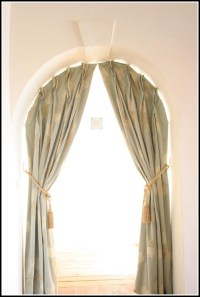 Window Treatments For Half Arched Windows - Curtains ...