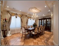Formal Dining Room Window Curtains