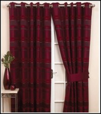 Black And Red Curtains For Living Room - Curtains : Home ...