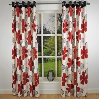 Cheap Red Curtains Uk. Red And Grey Eyelet Curtains ...