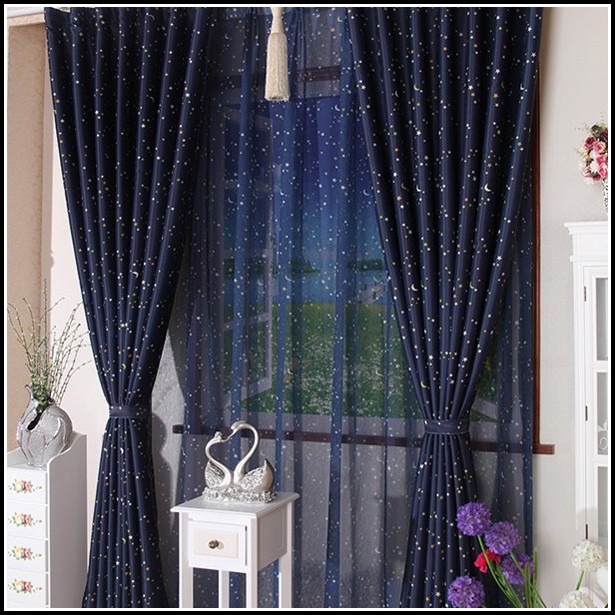 Navy Blue Sheer Curtain Panels  Curtains  Home Design Ideas rNDLwEvn8q29108