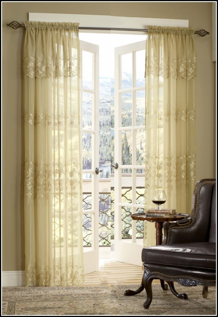 Brown Sheer Curtains With Valance  Curtains  Home Design Ideas 8zDvZ4rDqA33594