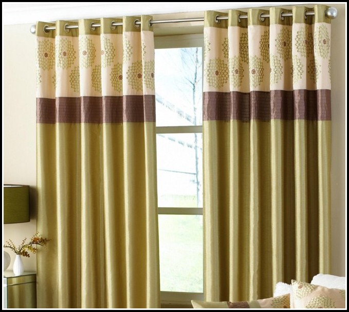 Red Green And Gold Striped Curtains  Curtains  Home