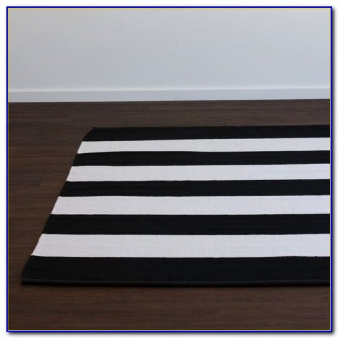 Black And White Striped Rug Amazon