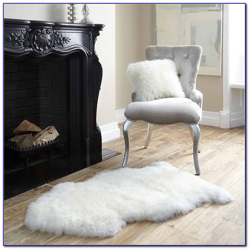 White Sheepskin Rug Uk  Rugs  Home Design Ideas