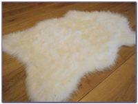 White Faux Sheepskin Rug - Rugs : Home Design Ideas ...