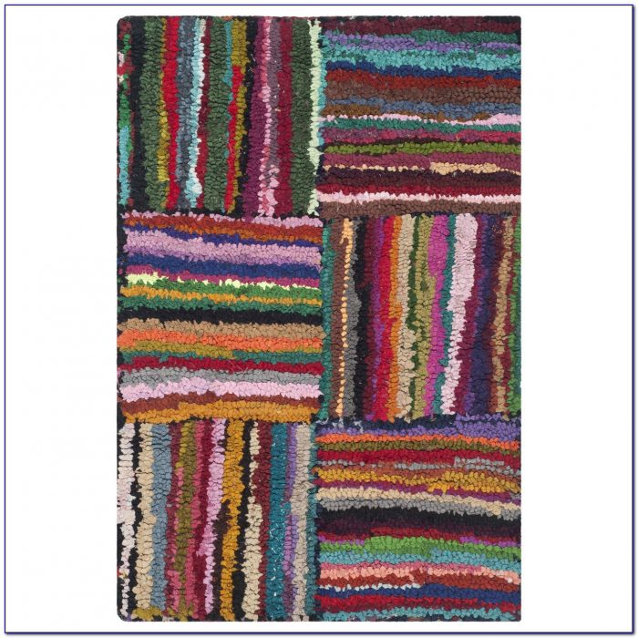 Multi Color Shag Rug  Rugs  Home Design Ideas