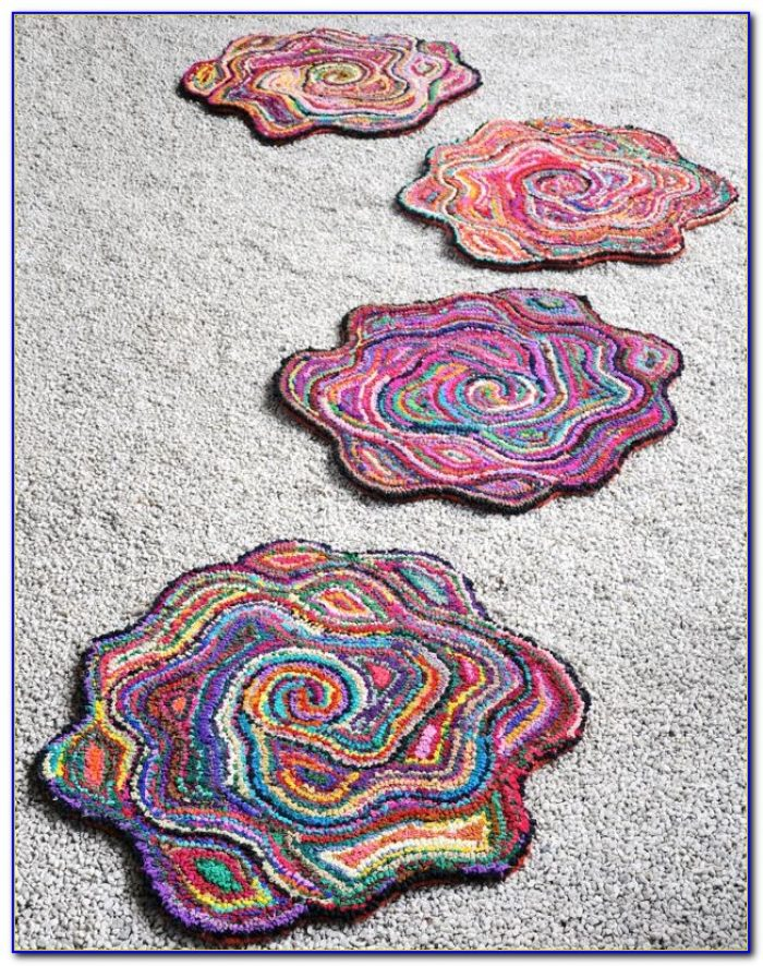 Flower Shaped Bath Rug Rugs Home Design Ideas