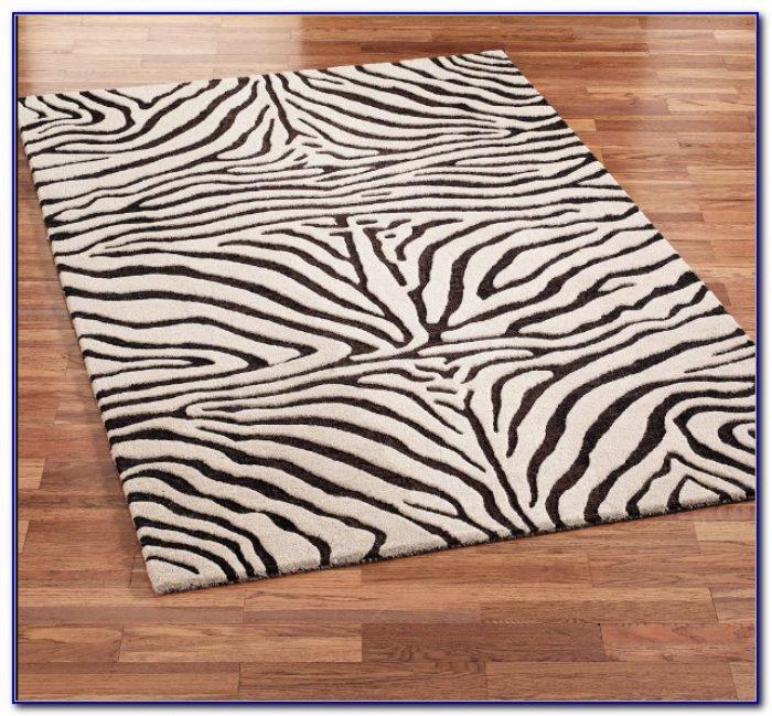 Zebra Print Area Rug  Rugs  Home Design Ideas