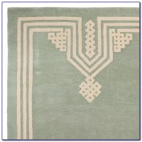Seafoam Green Area Rugs