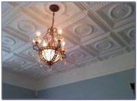 Faux Tin Ceiling Tiles Glue Up - Tiles : Home Design Ideas ...