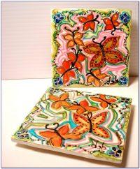 Hand Painted Ceramic Tiles Shirley Australia - Tiles ...
