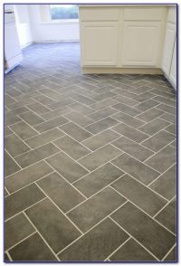 Herringbone Tile Pattern Bathroom Floor - Flooring : Home ...