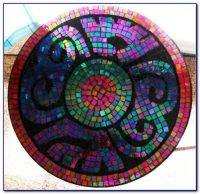 Mosaic Round Table Top Patterns - Tabletop : Home Design ...